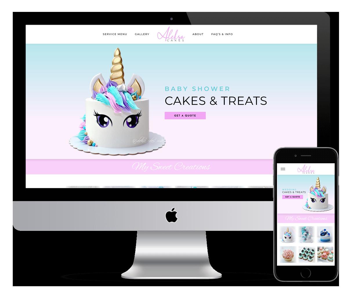 ALESKA CAKES - WEB